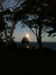 Super Moon over Western Port Bay