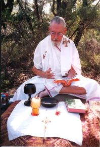 Fr. Vyn Baily msc at the Douglas Park Ashram