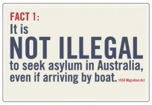 There is no such this as a Illegal Asylum Seeker