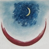 Receptivity - Beholding the Moon in its likeness
