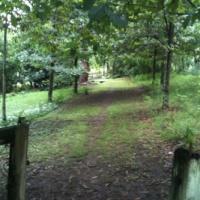 Entrance path to Ellenborough Hermitage