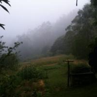 Dawn breaks over Ellenborough Valley